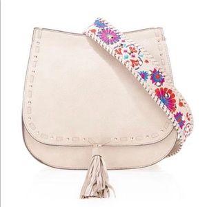 STEVE MADDEN | Floral Selena Saddle Bag